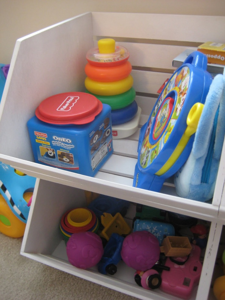 Top 10 Inspirational Diy Toy Storage Ideas