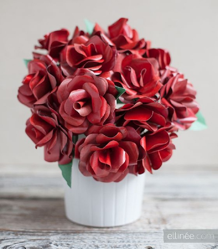 Top 10 DIY Valentine Rose Crafts