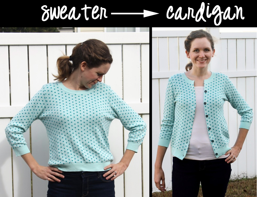 sweater-to-cardigan