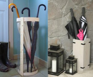 Top 10 Easy DIY Umbrella Stands