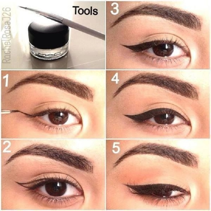 Watch How to Apply Makeup on Round Eyes video