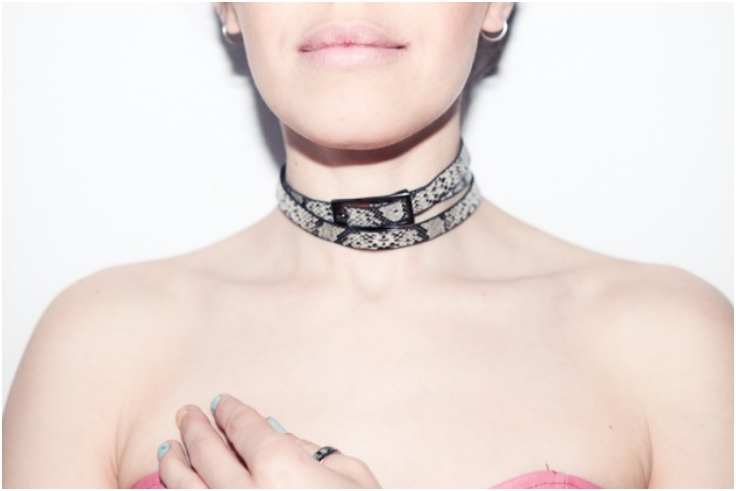 Belt-Choker-Necklace