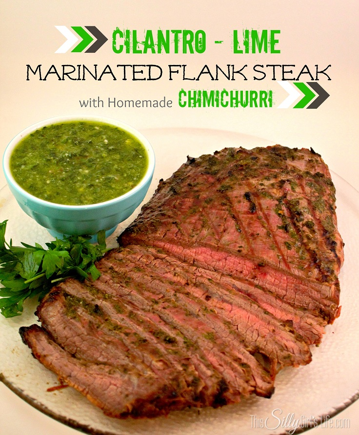 ... marinated flank steak spicy lime cilantro marinated flank steak