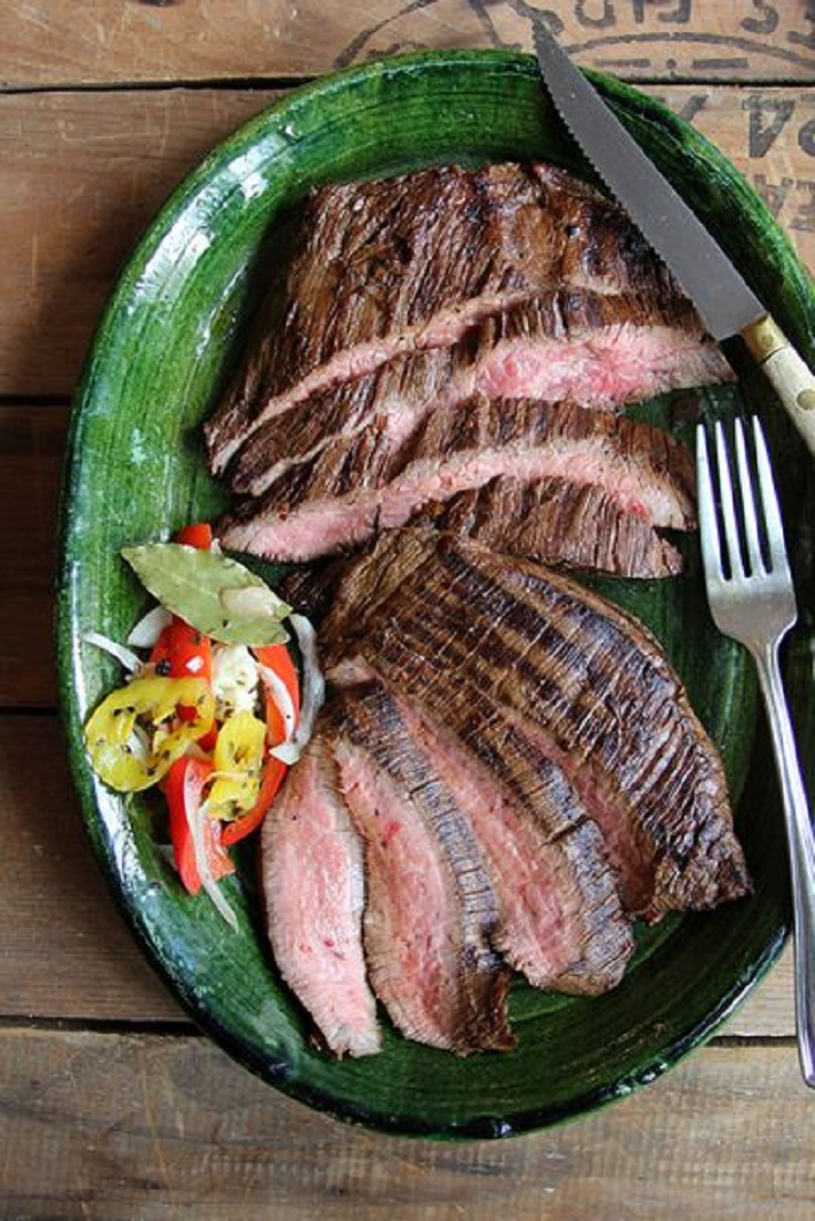 Coffee-and-Soy-Marinated-Flank-Steak