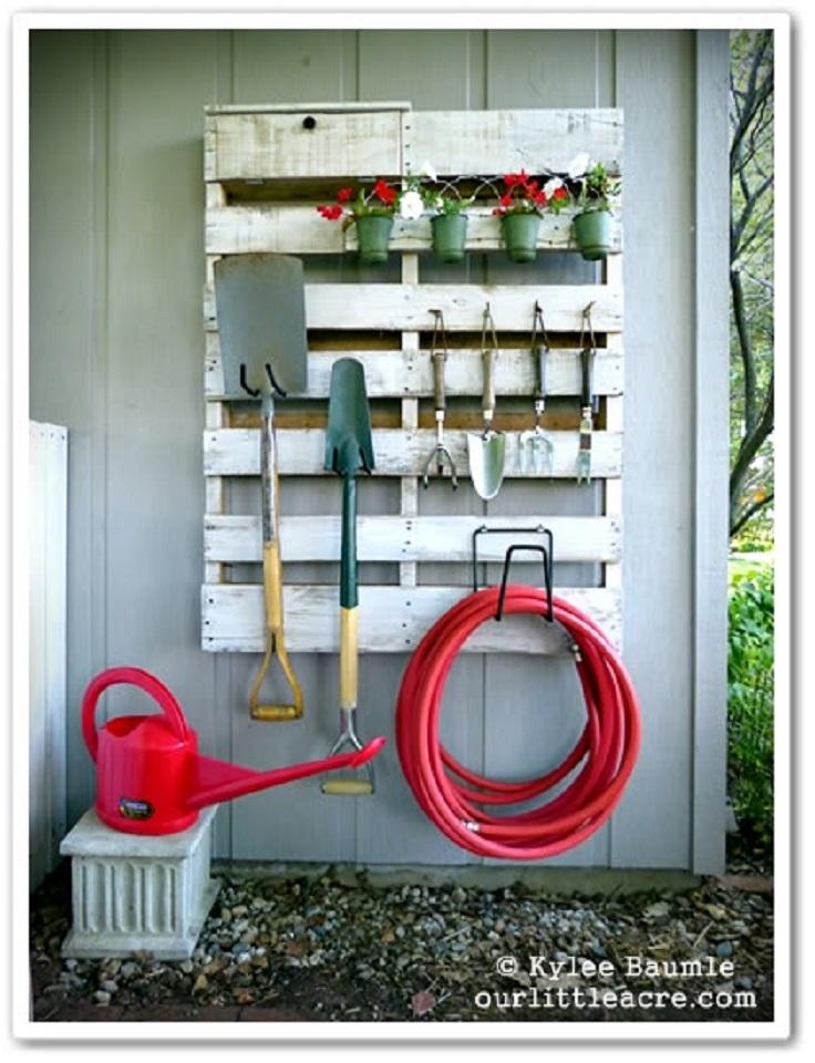 DIY-Pallet-Garden-Project