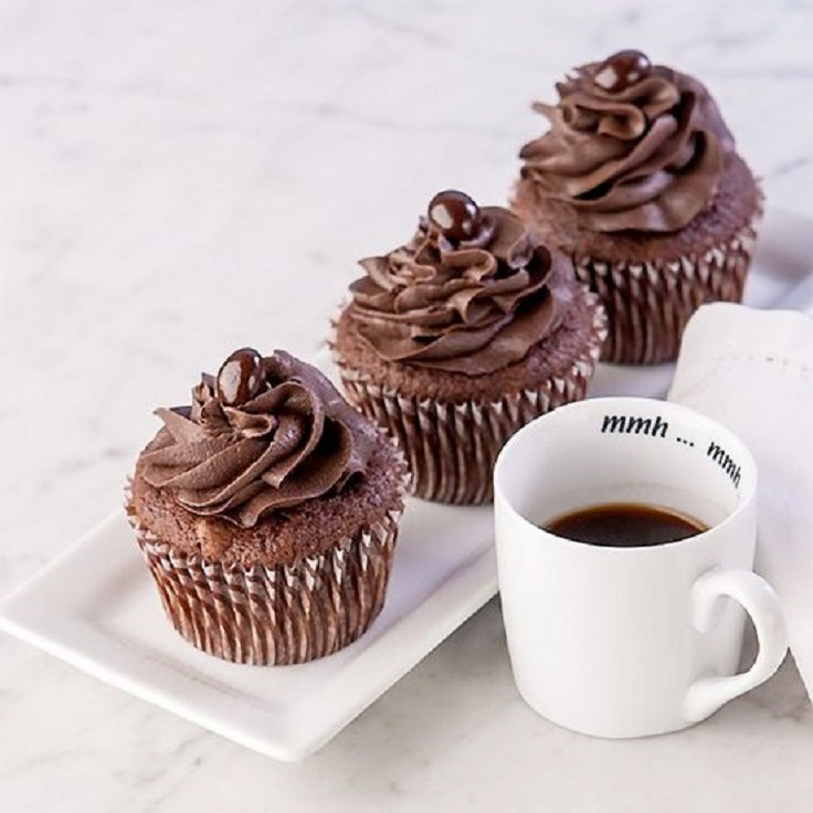 Chocolate Espresso Cupcakes with Chocolate Espresso Frosting ...