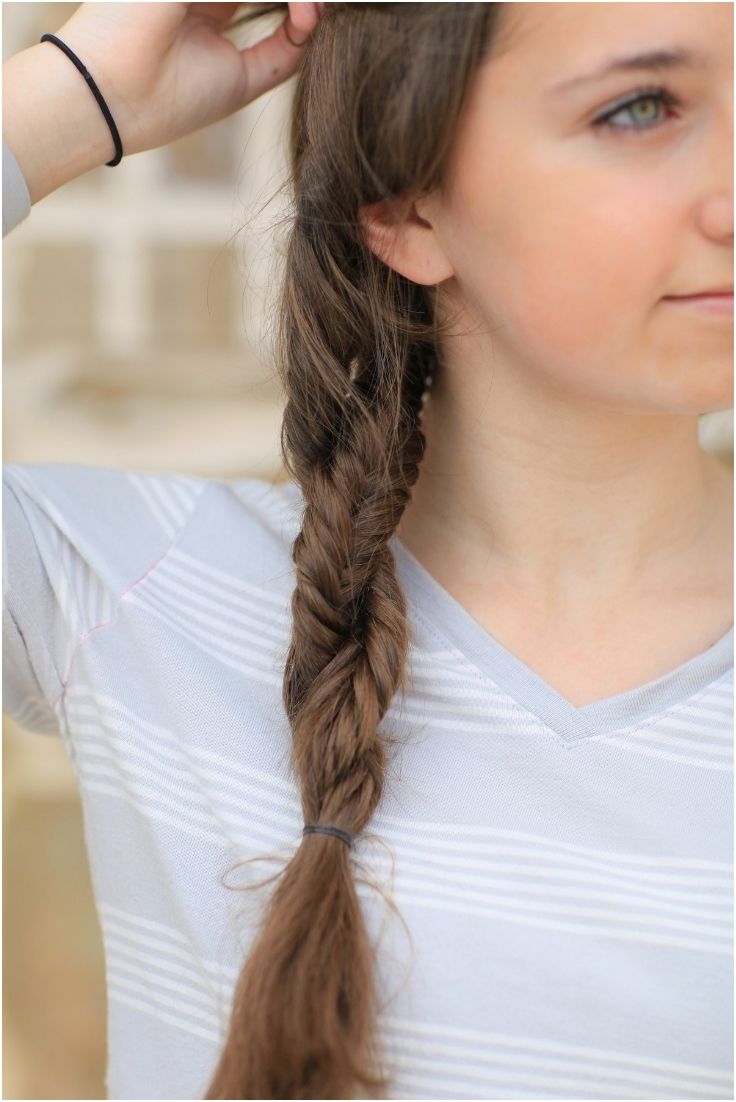 Top 10 fantastic fishtail braid hairdos top inspired for Fish braid hairstyle