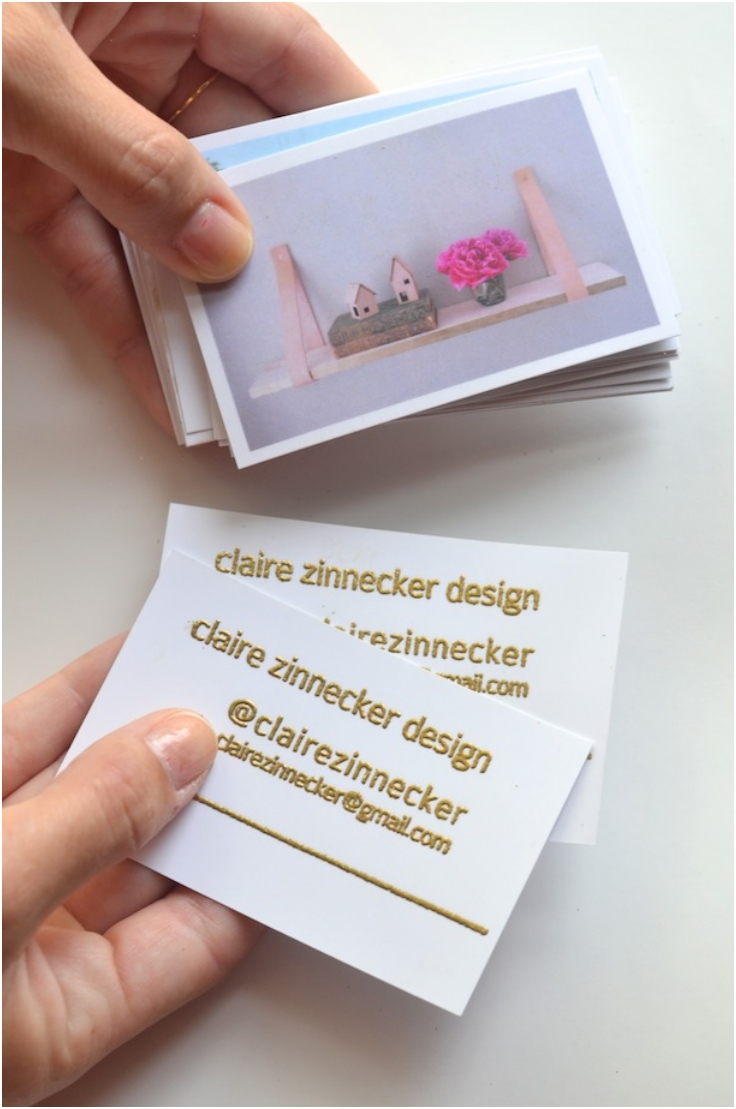 Top 10 Creative And Inexpensive DIY Business Or Calling Cards | Top Inspired
