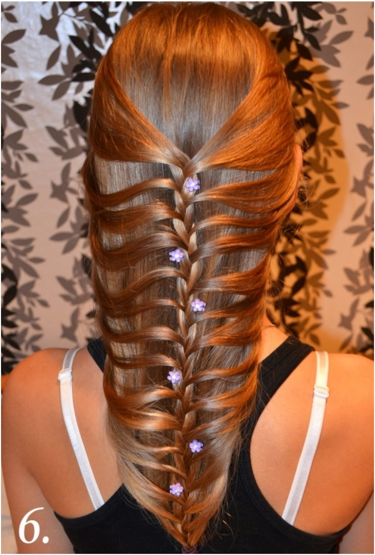 Top 10 fantastic fishtail braid hairdos top inspired for Fish tail hair
