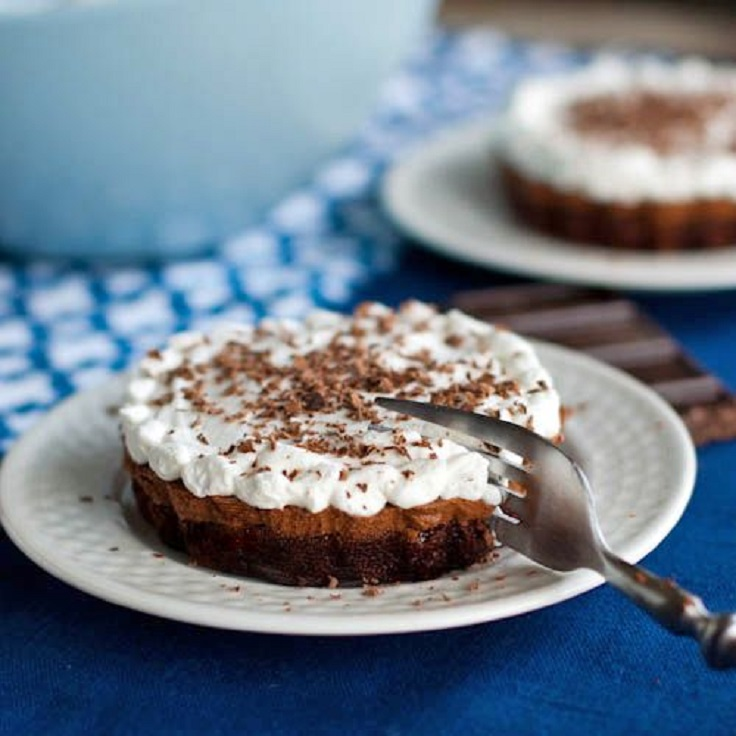 French-Silk-Brownie-Pie