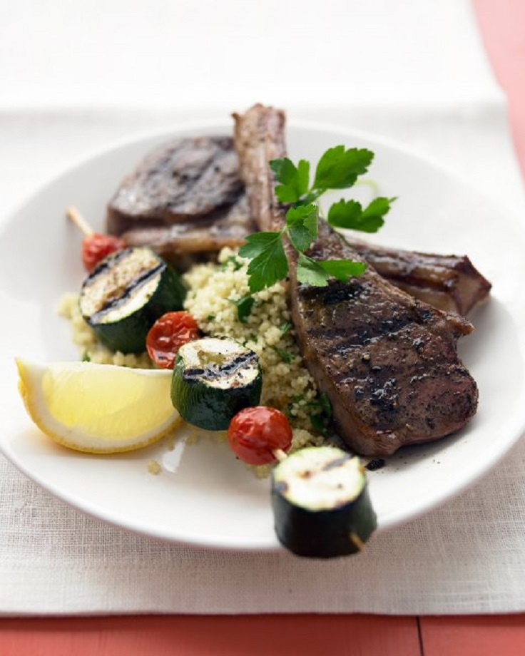 Grilled-Lamb-Chops-and-Vegetable-Kebabs