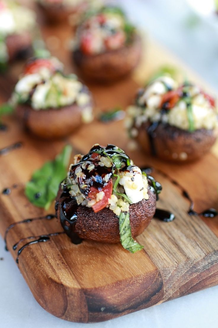 Grilled-Stuffed-Mushrooms-with-Balsamic-Glaze