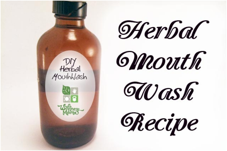 Herbal Mouth Wash 104