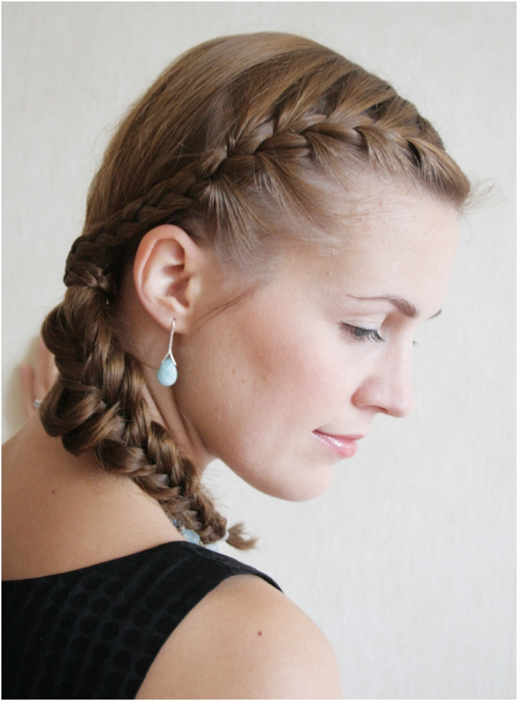 How-to-combine-a-French-braid-and-a-Fishtail-braid