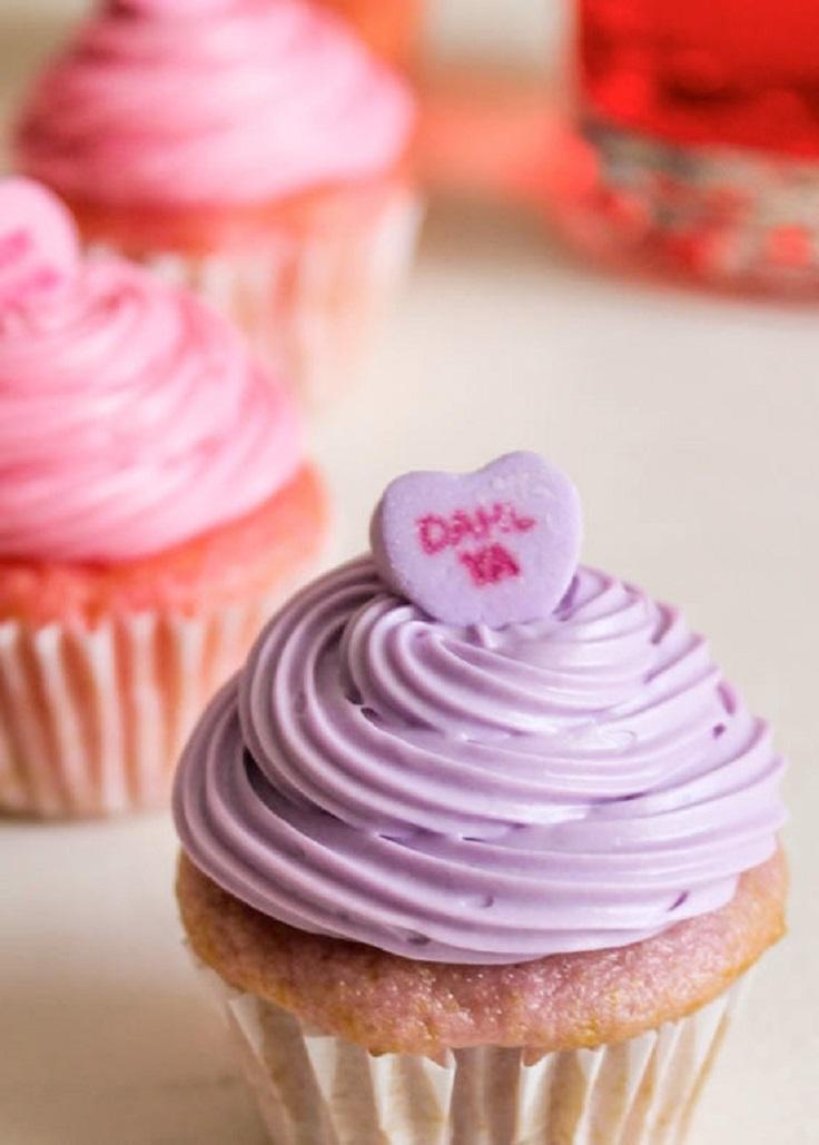 Mini-Conversation-Hearts-Cupcakes