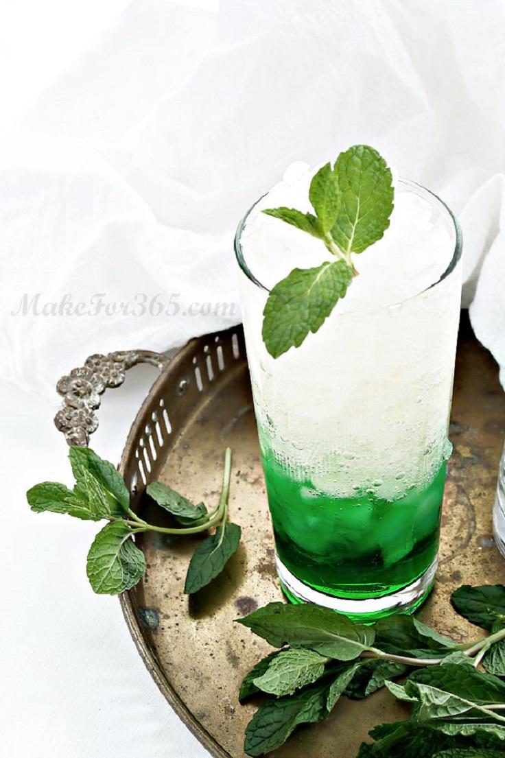 Mint-Ginger-Melon-Cocktail