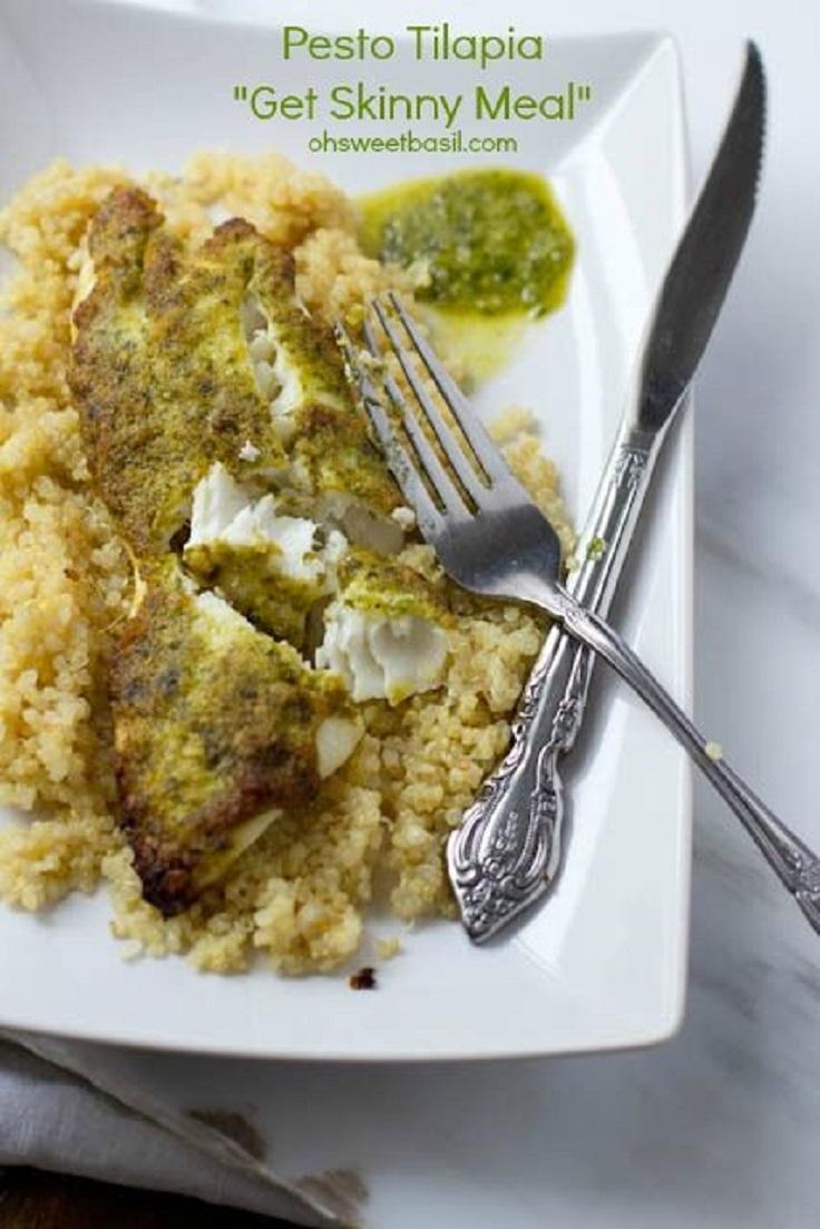 Pesto-Tilapia