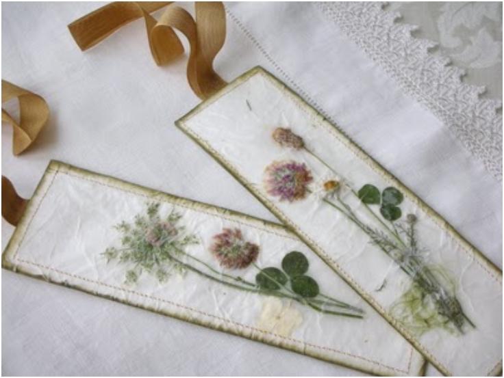 Pressed-Wildflower-Bookmark-Tutorial