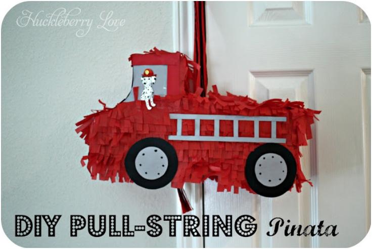 Pull-String-Firetruck-Pinata