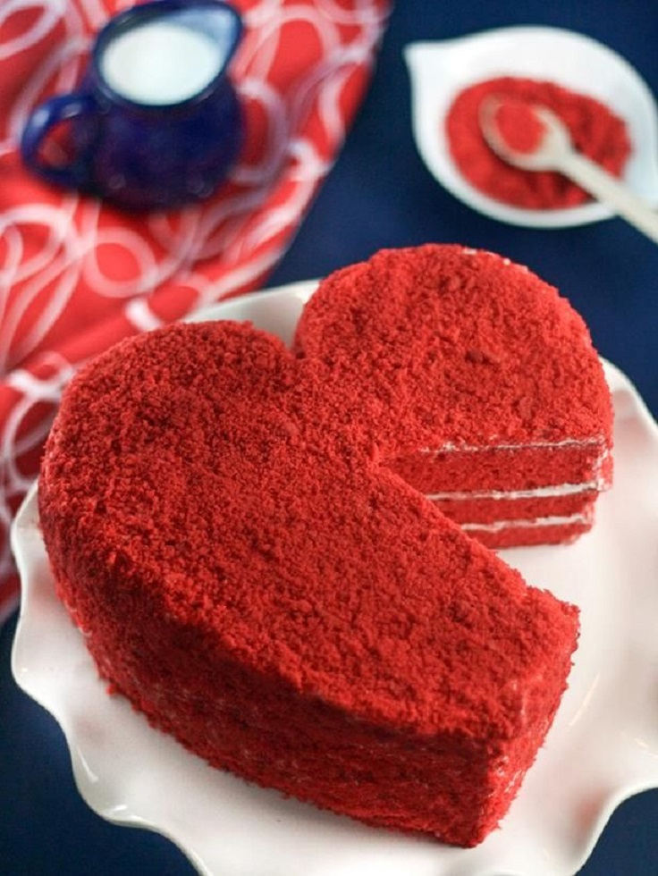 Top 10 Romantic Cakes for Valentine's Day