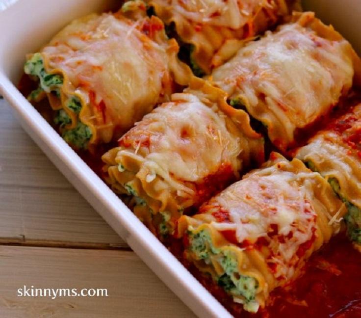 Skinny-Lasagna-Rolls