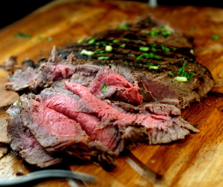 you all have to try sometimes. The spicy Asian marinated flank steak ...