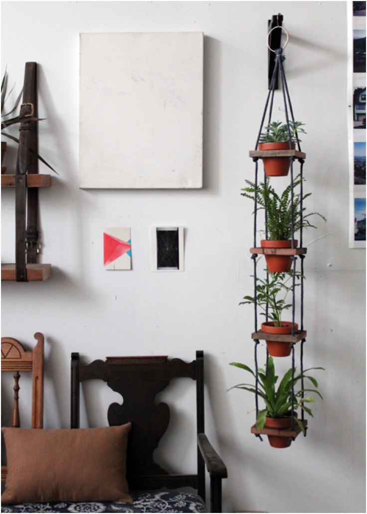 Top 10 Enchanting DIY Plant Stands - Top Inspired on Stand For Hanging Plants  id=64321