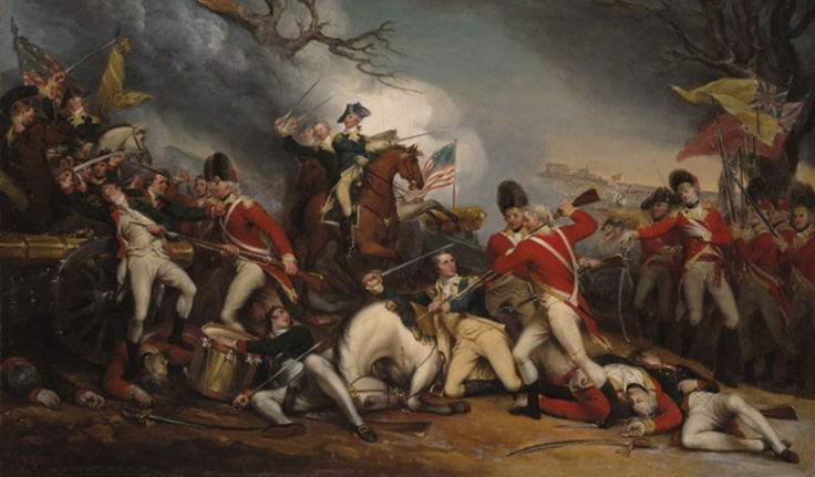 How did Washington's leadership help the Americans win the American Revolution?