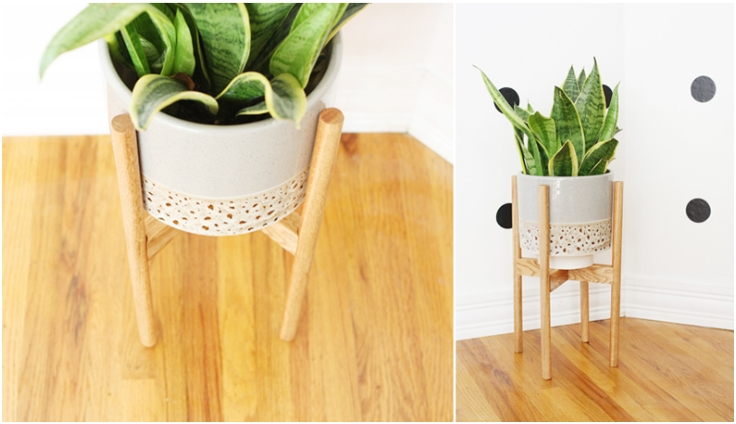 Wood Work Diy Plant Stands Pdf Plans