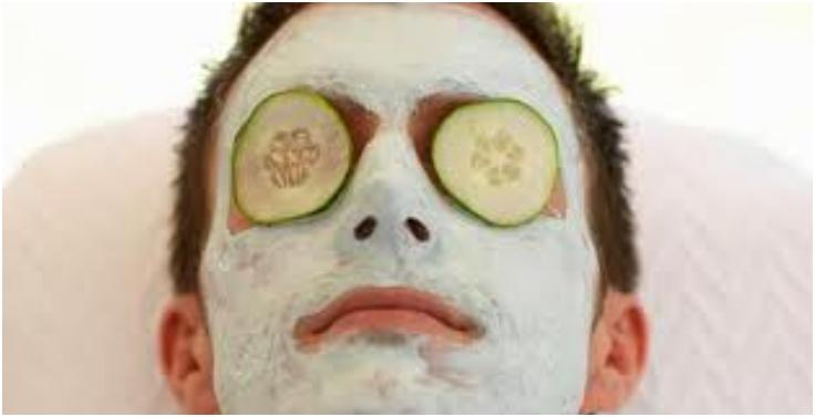 Facial mask for man