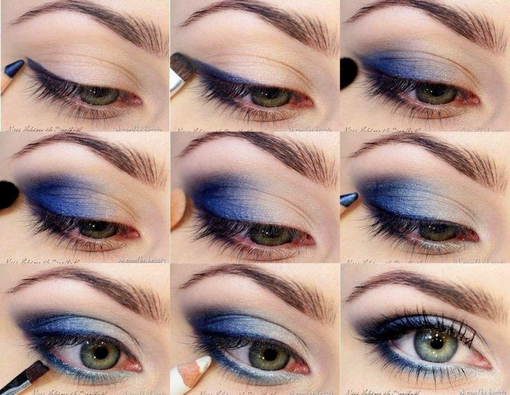 Blue-Eye-Shadow-Makeup-Tutorial