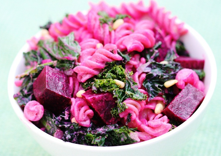 Creamy-Fusilli-with-Beets-Kale-and-Pine-Nuts