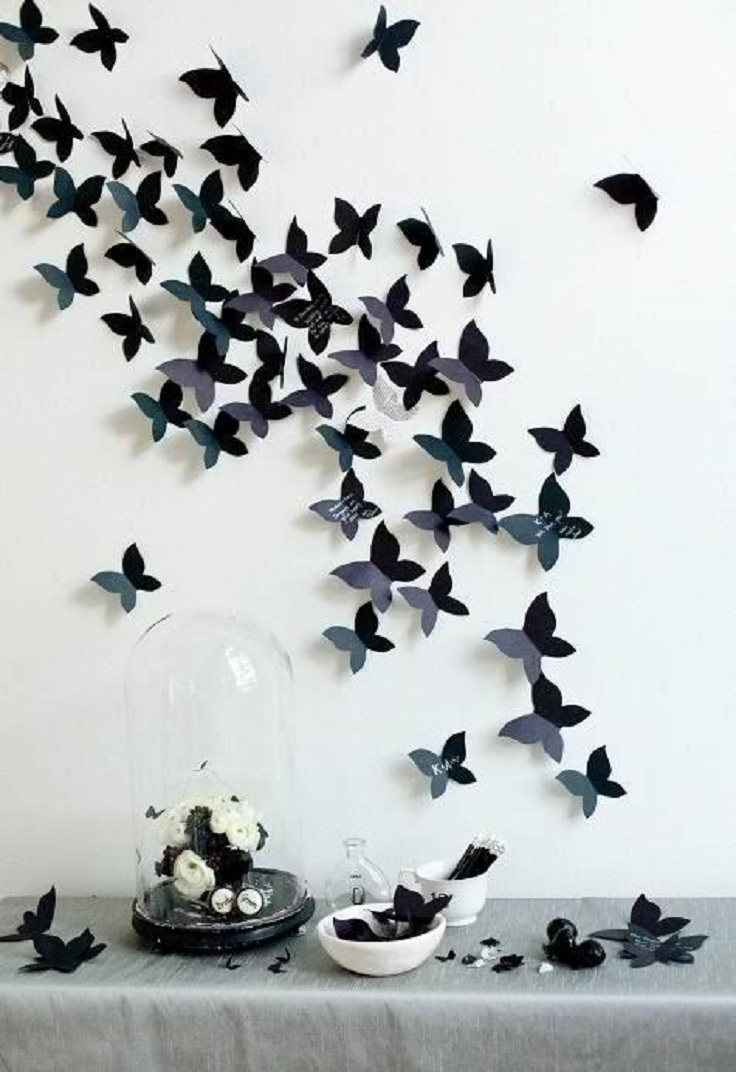 DIY-Decor-Your-Wall-With-Cute-Butterflies