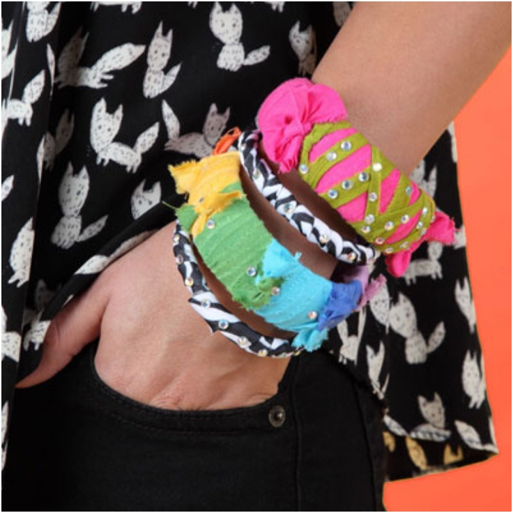 Top 10 Vibrant DIY Bangle Bracelets