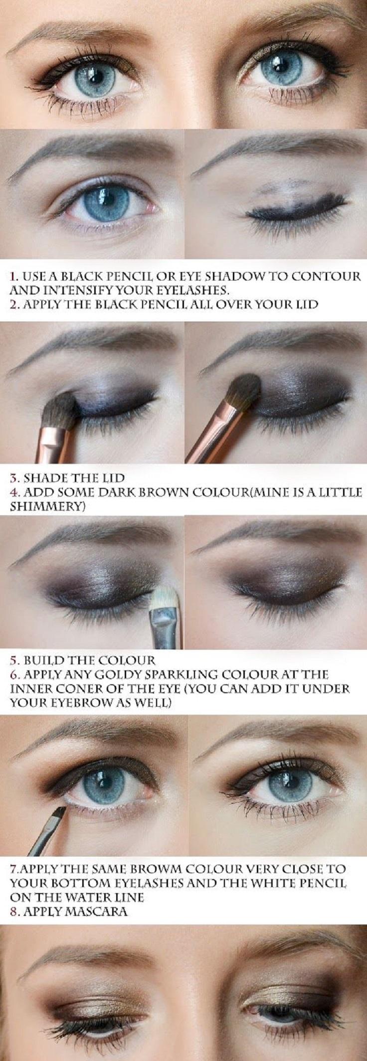 Glidded-Eyes-Makeup-Tutorial