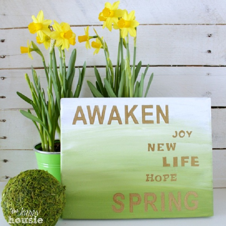 Gold-and-Green-Ombre-Spring-Sign