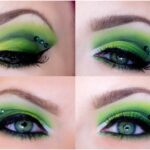 Green St. Patrick Day Eye Look