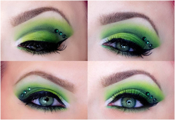 Top 10 Magical St Patrick S Day Make Up Tutorials Top