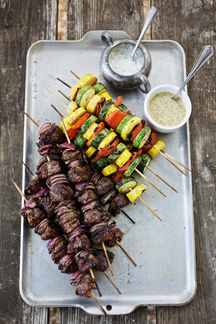 Grilled-Lamb-and-Vegetable-Kabobs