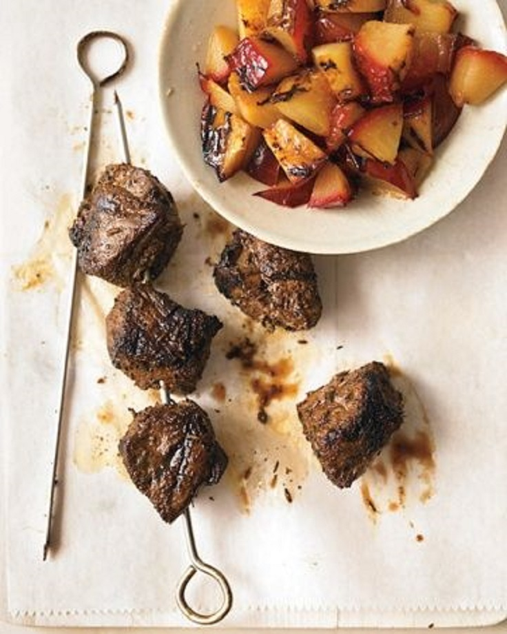 Grilled-Spiced-Lamb-Skewers-with-Plums