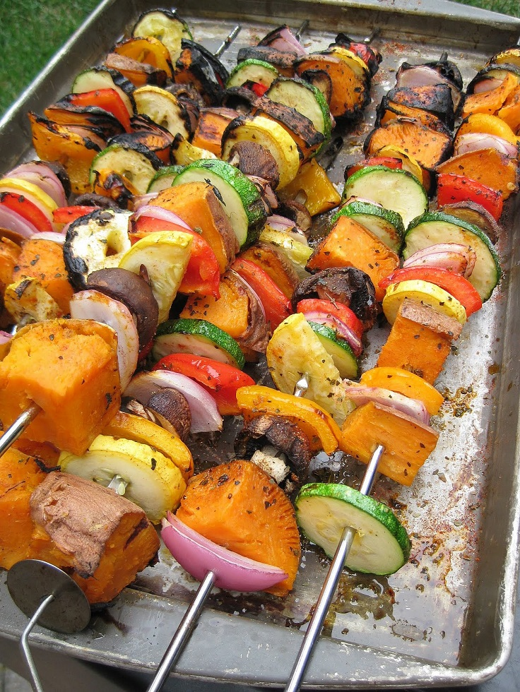 Grilled-Sweet-Potato-and-Vegetable-Skewers