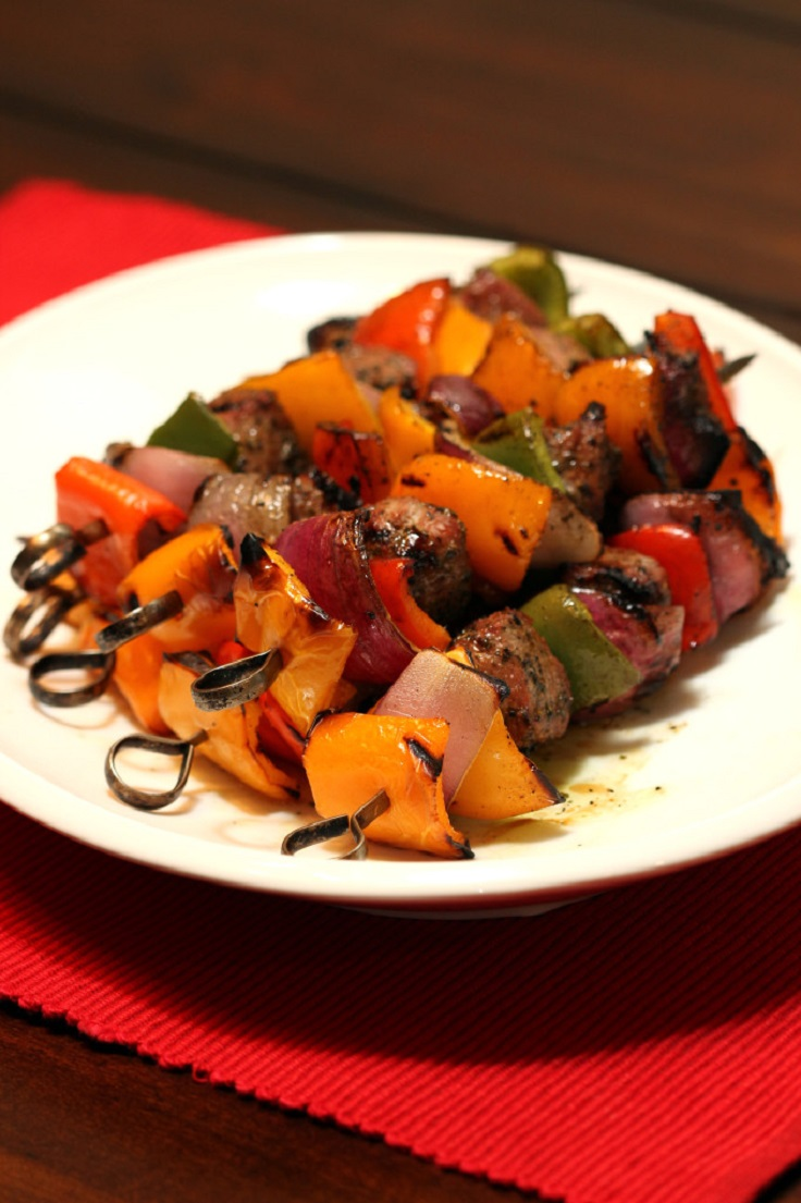 Honey-and-Mint-Grilled-Kabobs