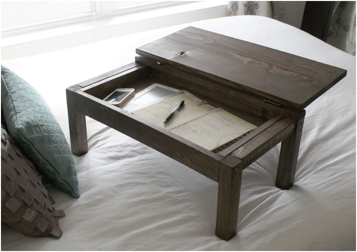Lap-Desk-With-Storage-Compartment