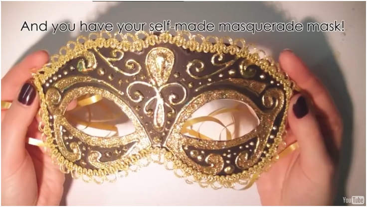 Top 10 DIY Mardi Gras Carnival Face Masks - Top Inspired Homemade Masquerade Mask Designs on homemade top hat designs, homemade paper plate mask, homemade owl masks for halloween, homemade potato face mask,