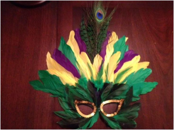 Top 10 DIY Mardi Gras Carnival Face Masks - Top Inspired