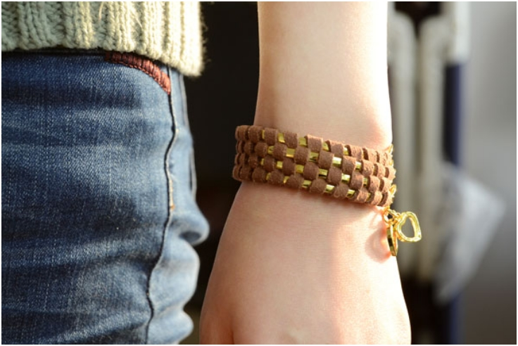 Metal-Cuff-Bracelets-with-Suede-Cord