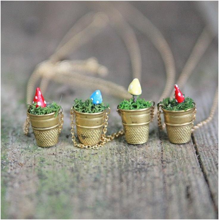 Mini-Vintage-Thimble-Planter-Necklaces