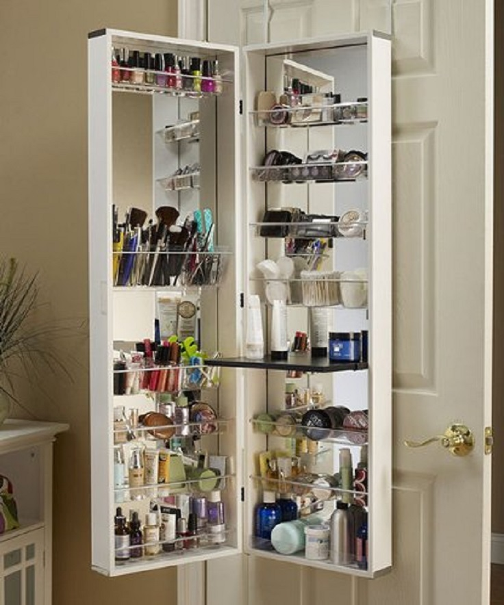 top 10 smart ways to store and organize your makeup top inspired. Black Bedroom Furniture Sets. Home Design Ideas