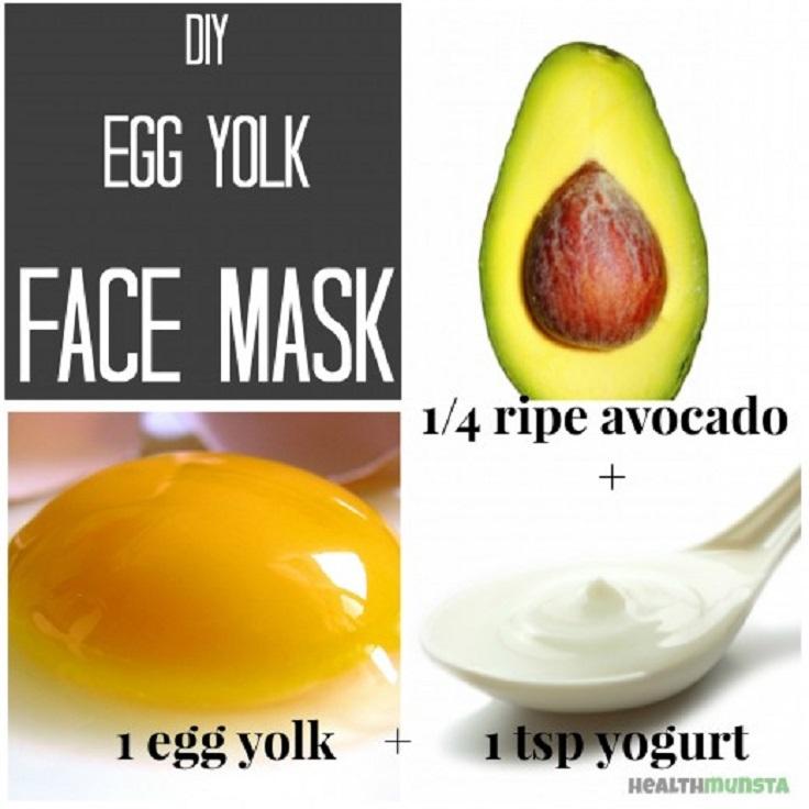 Nourishing Egg Yolk Face Mask