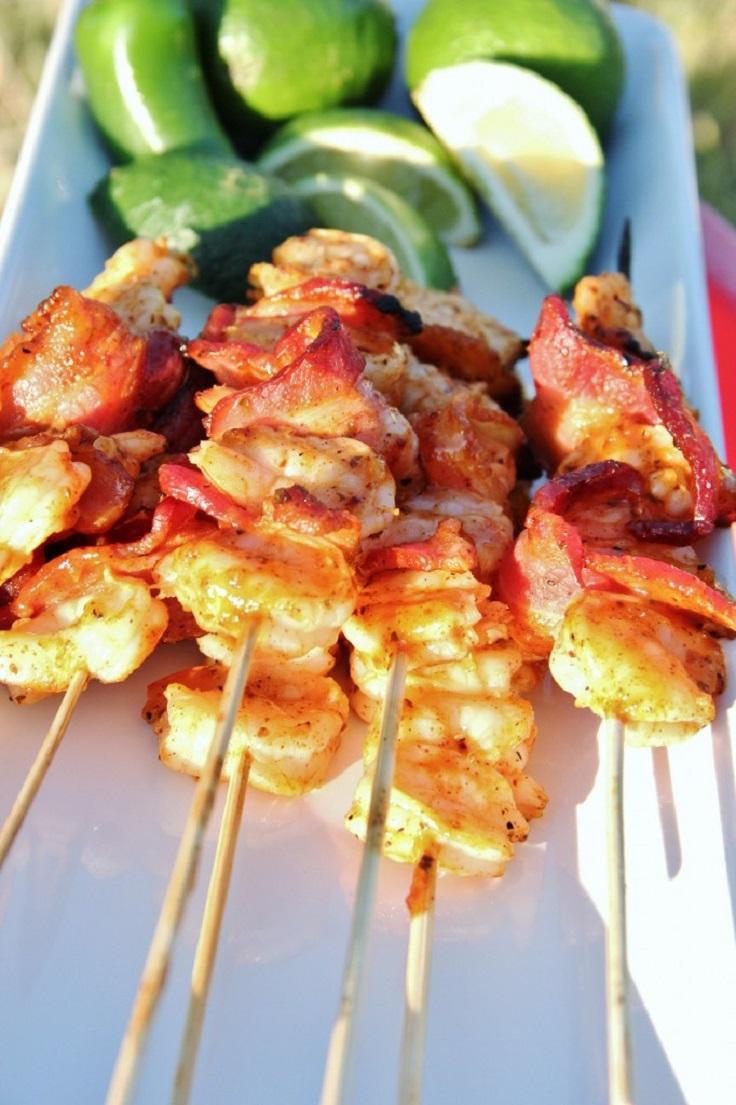 Shrimp-and-Bacon-Kabobs